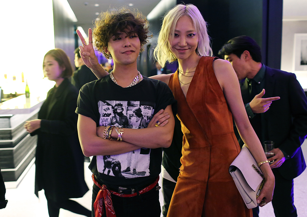 G Dragon GD Soo Joo Seoul Boon the Shop