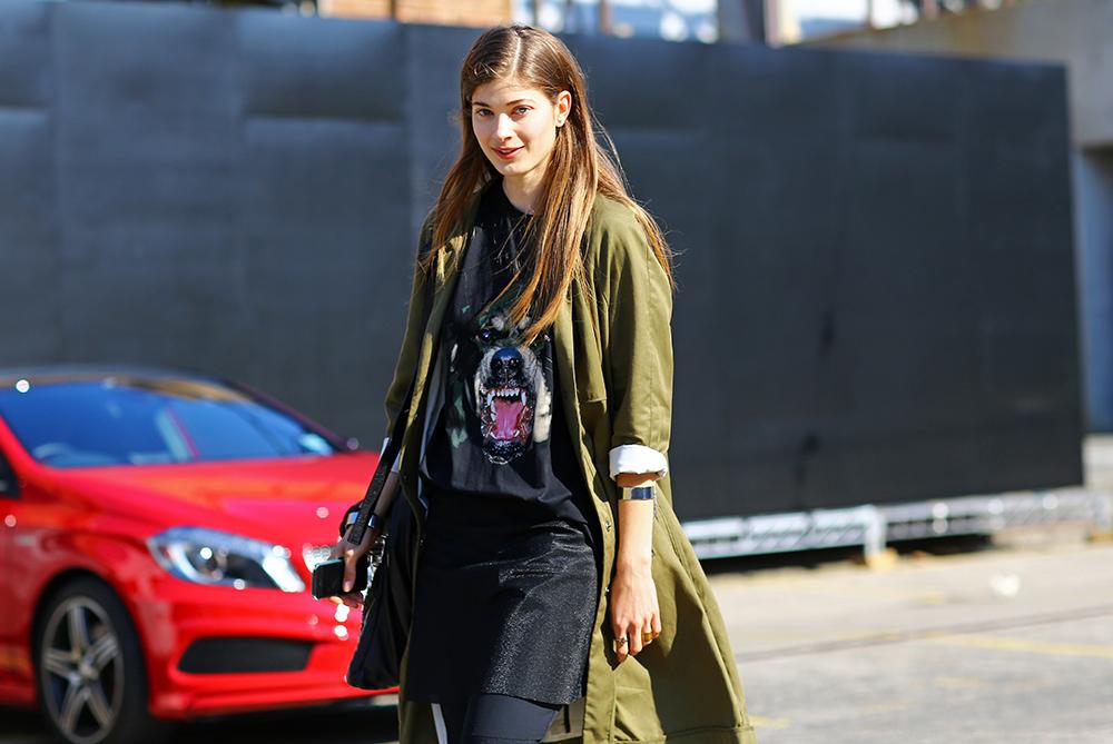 Larissa Hofmann Street Style Givenchy Australia