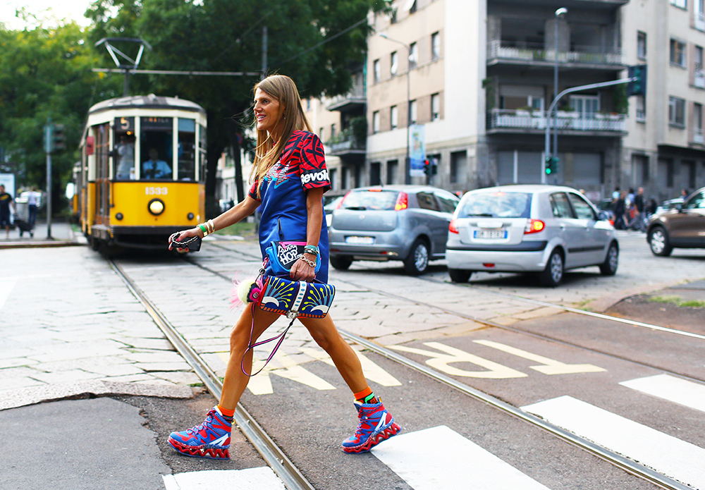 Anna Dello Russo Marc by Marc Jacobs Street Style