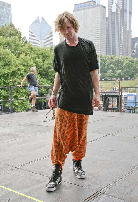 Aaron Chairlift Lollapalooza Street Fashion Street Peeper Global Street Fashion And