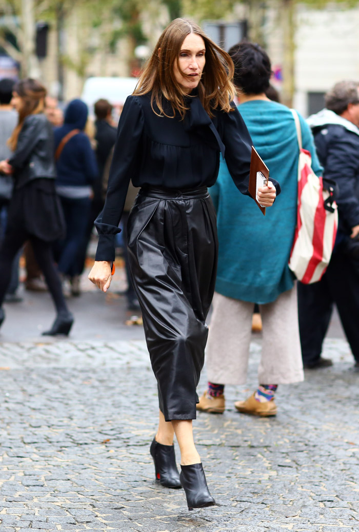 Annette Weber Instyle Germany Street Fashion Street