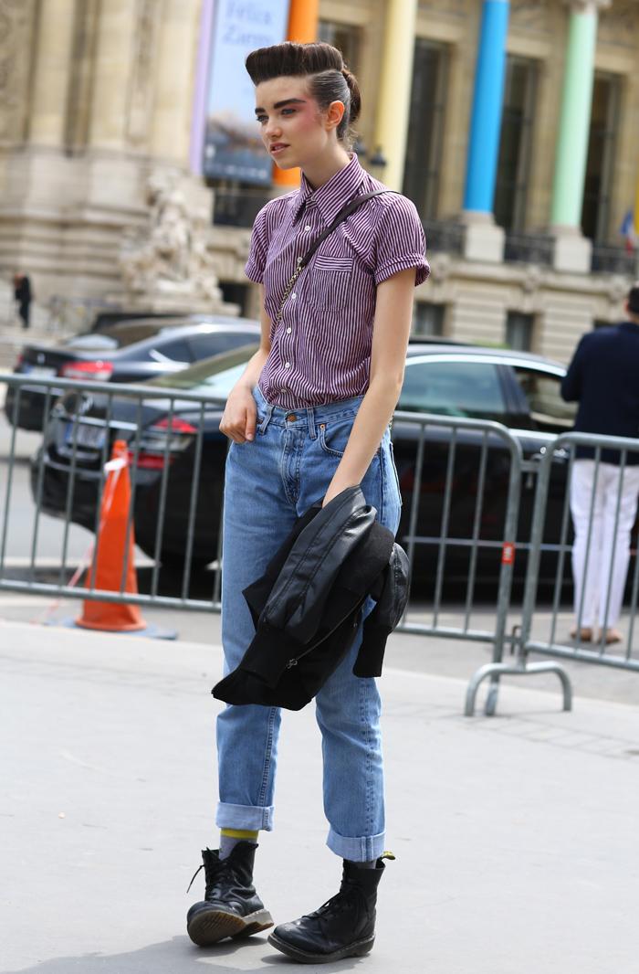 Grace Hartzel In Paris Grand Palais Street Fashion Street Peeper Global Street Fashion And