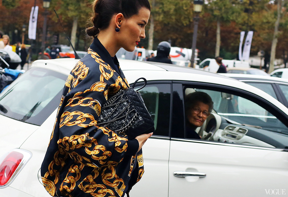 Hanneli Chanel Street Style