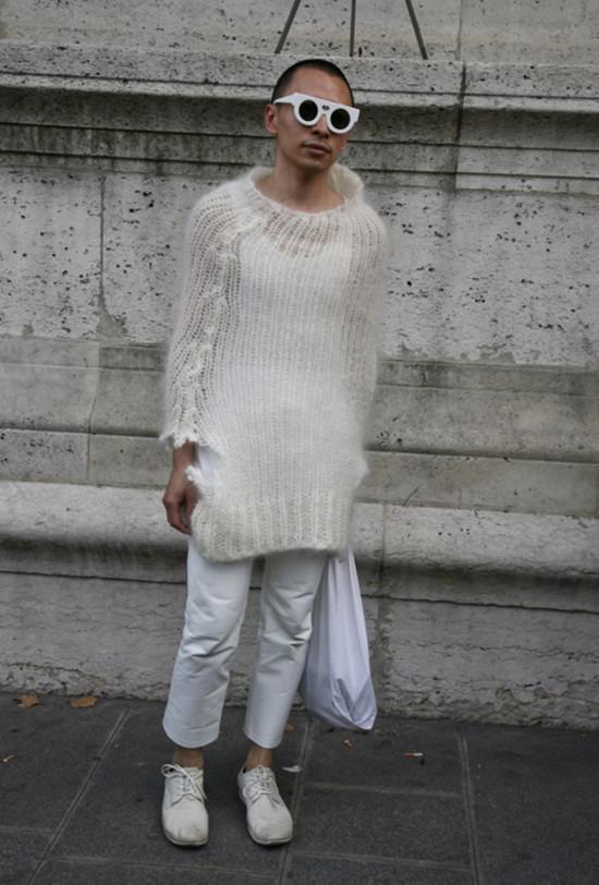 Terence Koh, White Sunglasses, Paris
