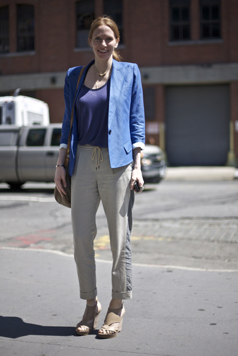 Blue Blazer, Meatpacking District NYC