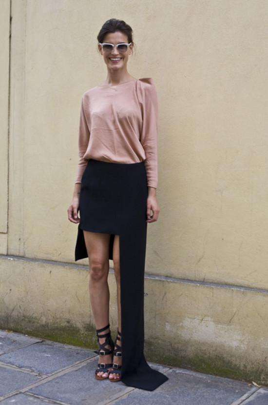 Hanneli at Paris Couture