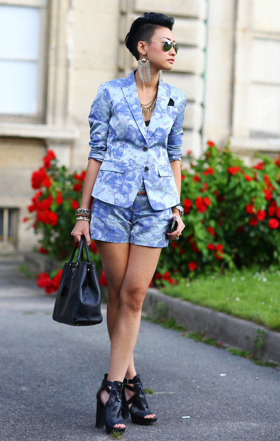Esther Quek in Blue
