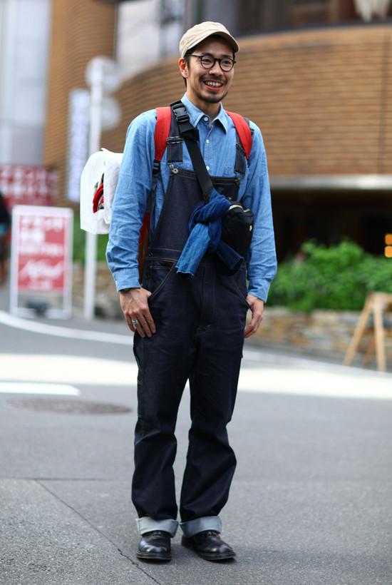 Tokyo Denim + Overalls