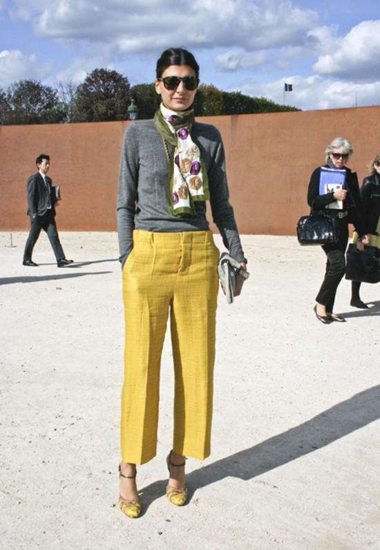 Giovanna Battaglia of L'Uomo Vogue in Paris III