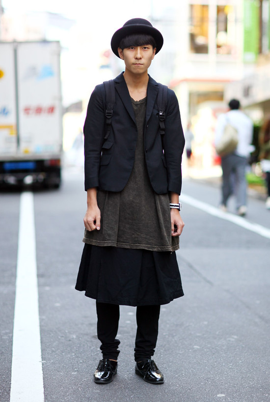 Tokyo Denim Overalls Street Fashion Street Peeper Global Street Fashion And Street Style
