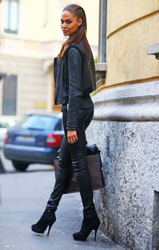 Joan Smalls, Leather Pants