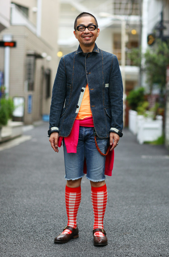 Red + Denim in Tokyo
