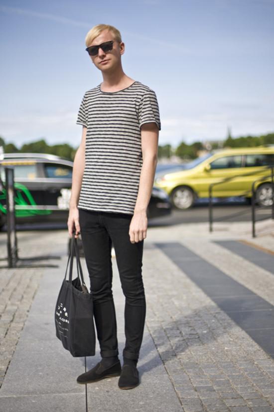 Black/Grey Stockholm