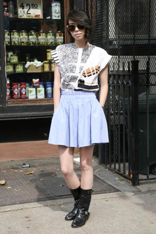 Amelia Dunbar, Outside Bedford Cheese