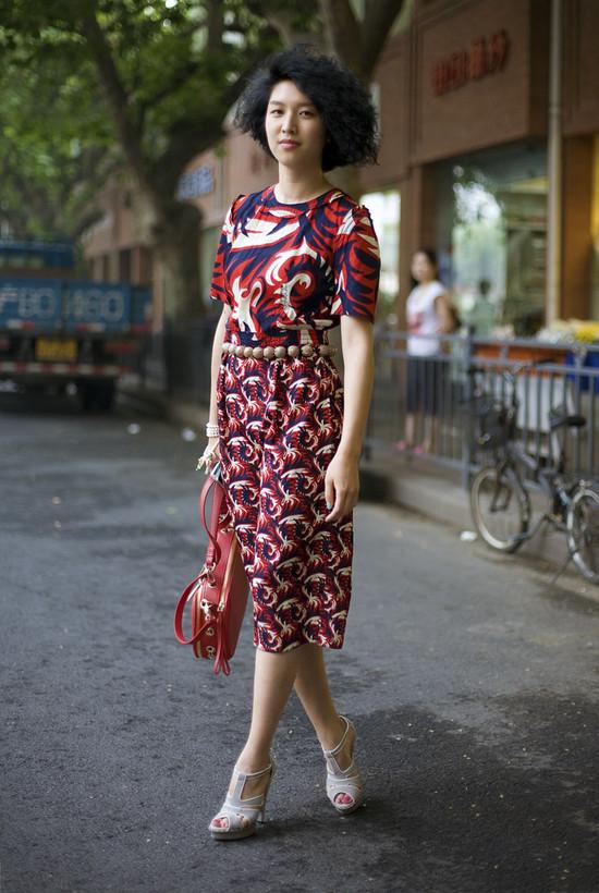 Yoshiko Okura Elle China Street Fashion Street Peeper Global Street Fashion And Street Style