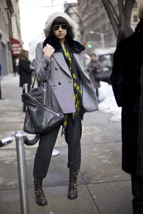 McQueen Scarf, NYC