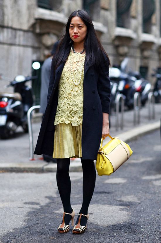 Black and Yellow Lace