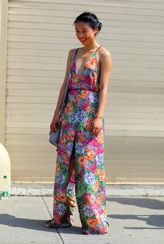 Floral Jumpsuit NYC