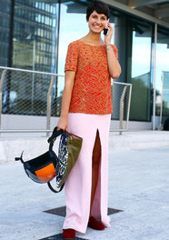 Eva Geraldine Fontanelli in Tory Burch Fashion