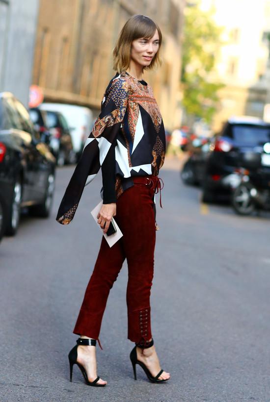 Anya Ziourova in Givenchy