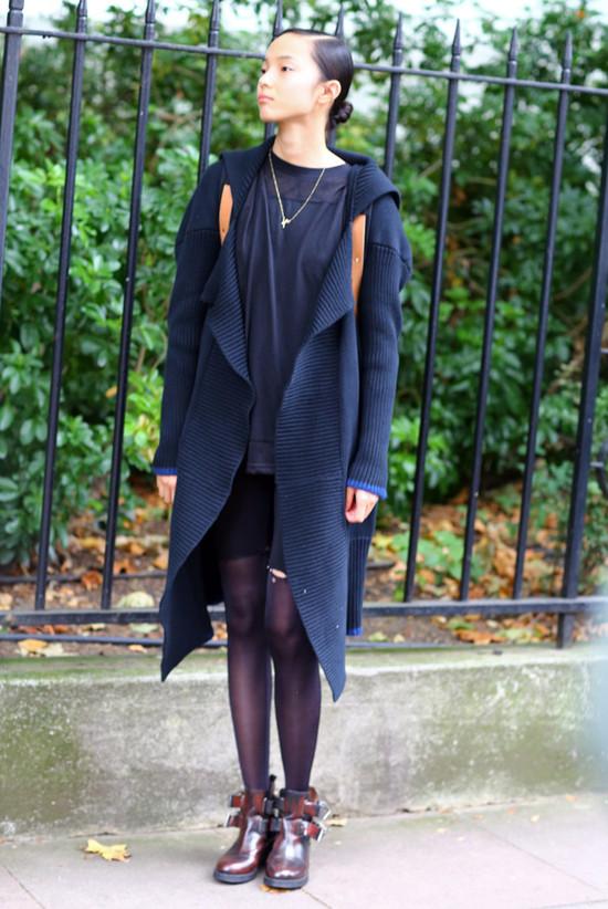 Xiao Wen in Black