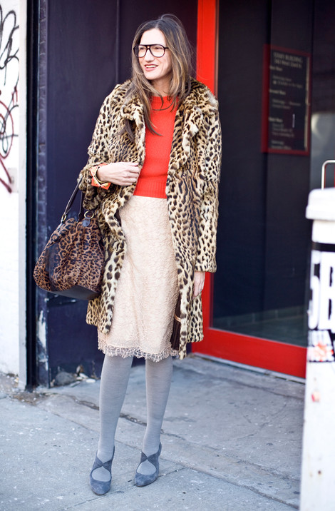 Jenna Lyons in a Doorway
