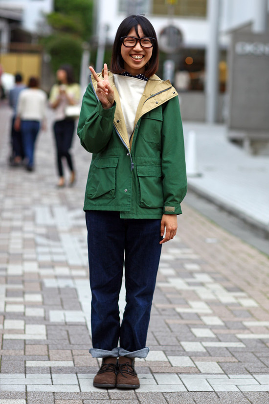 Green Jacket, Peace