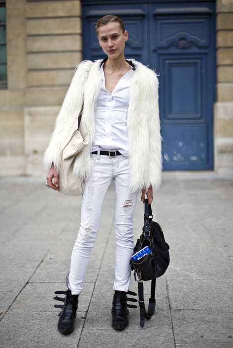 White Fur, Black Leather