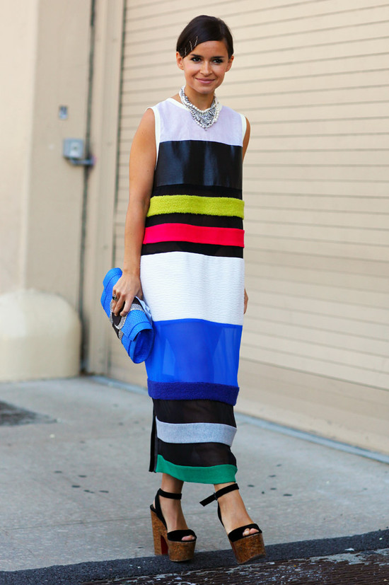 Striped Miroslava Duma