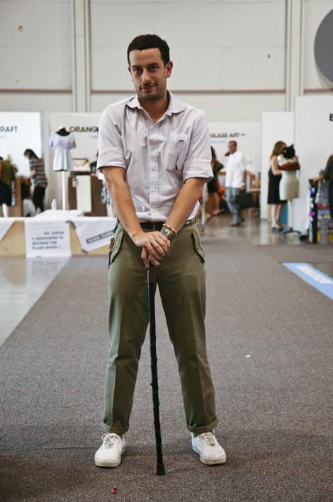 Josh Peskowitz at Pool Trade Show