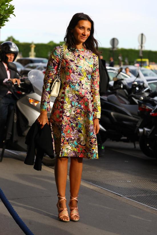 Liz Cabral Vintage Floral Street Fashion Street Peeper Global Street Fashion And Street Style