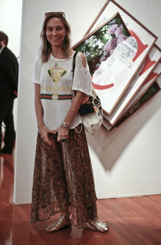 Mirabelle Marden @ Nada Art Fair Miami 2009