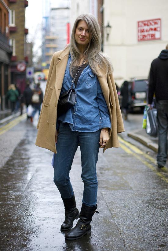 Sarah Harris British Vogue London Street Fashion Street Peeper Global Street Fashion And