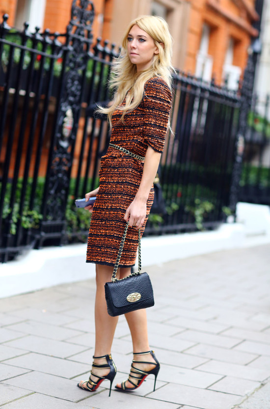 Mulberry Dress, Mulberry Bag