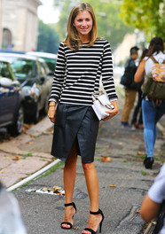 Marina Larroude, Stripes Fashion