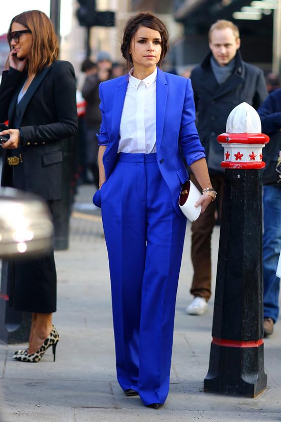Miroslava Duma, Blue Suit