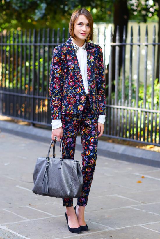 Floral Suit, London