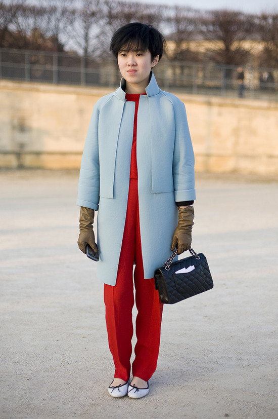 Tang, Blue and Red, Paris