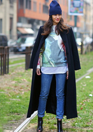 Street Fashion Milan