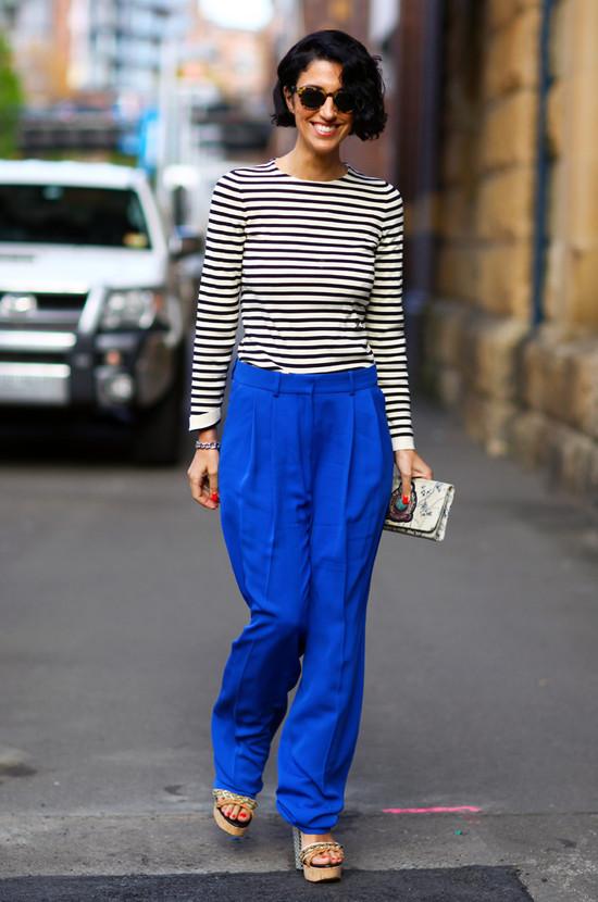 Stripey Yasmin Sewell in Sydney