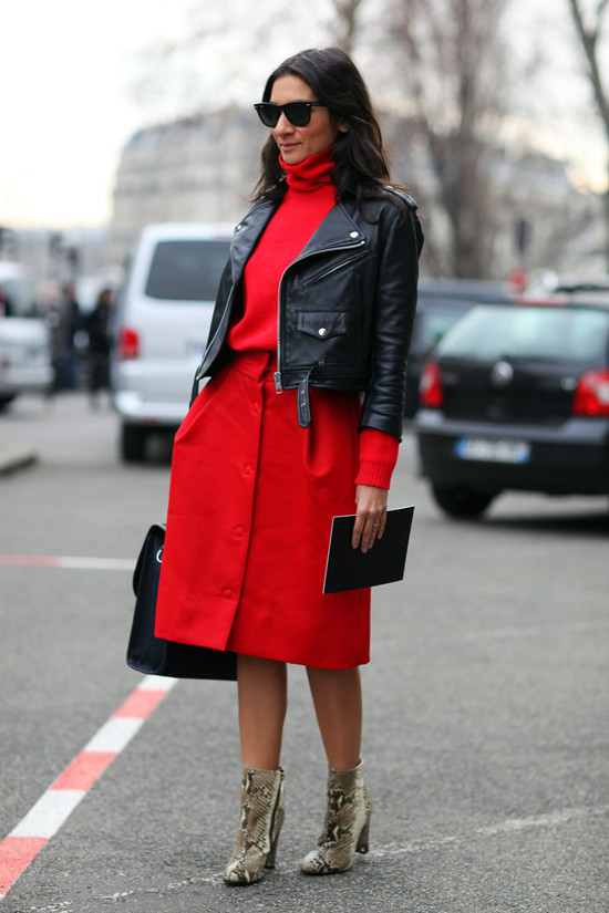 Liz Cabral, Red + Leather
