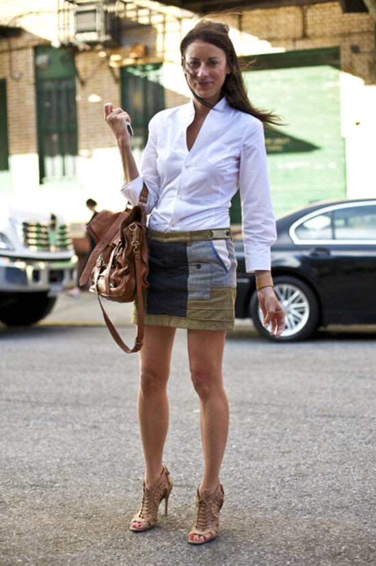 Intermix Lady, NYC