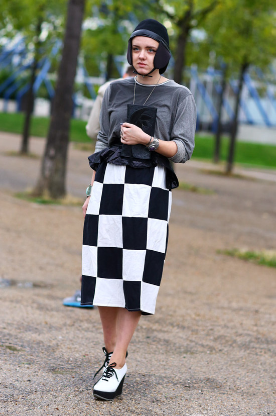 Chess Board Skirt