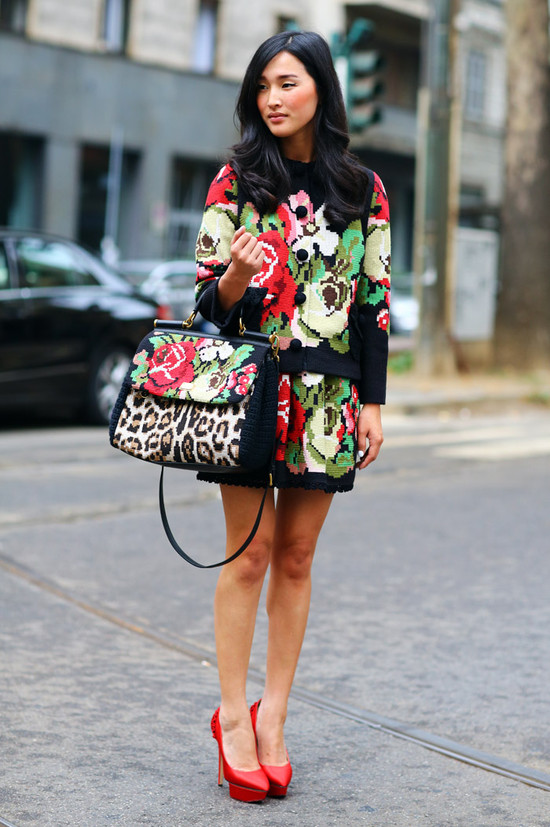 Nicole Warne, Dolce & Gabbana