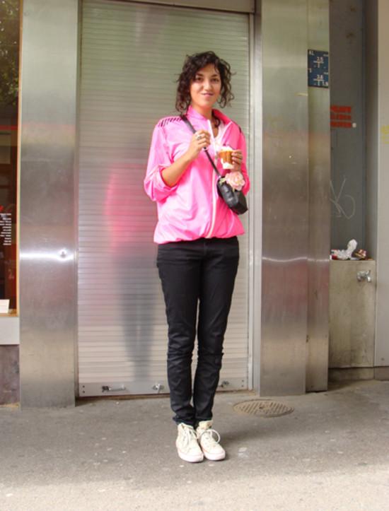 Pink Jacket, Zurich