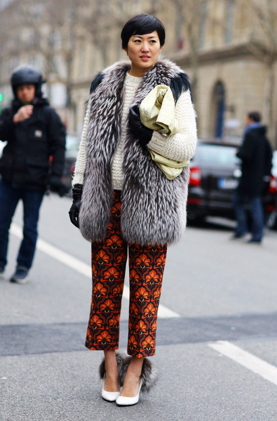 Shizue Vogue Japan Street Fashion Street Peeper Global Street Fashion And Street Style