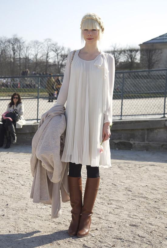 Erin Fetherston, White, Paris