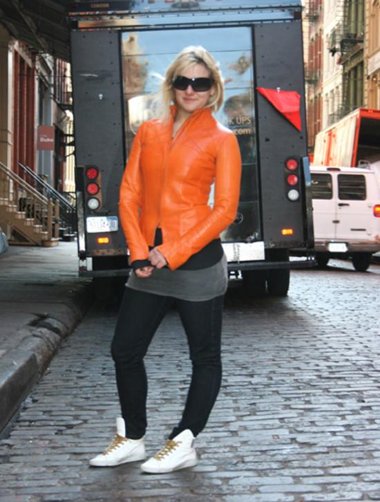 Kate & UPS Truck