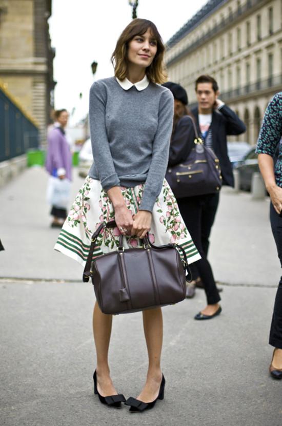 Alexa Chung in Louis Vuitton