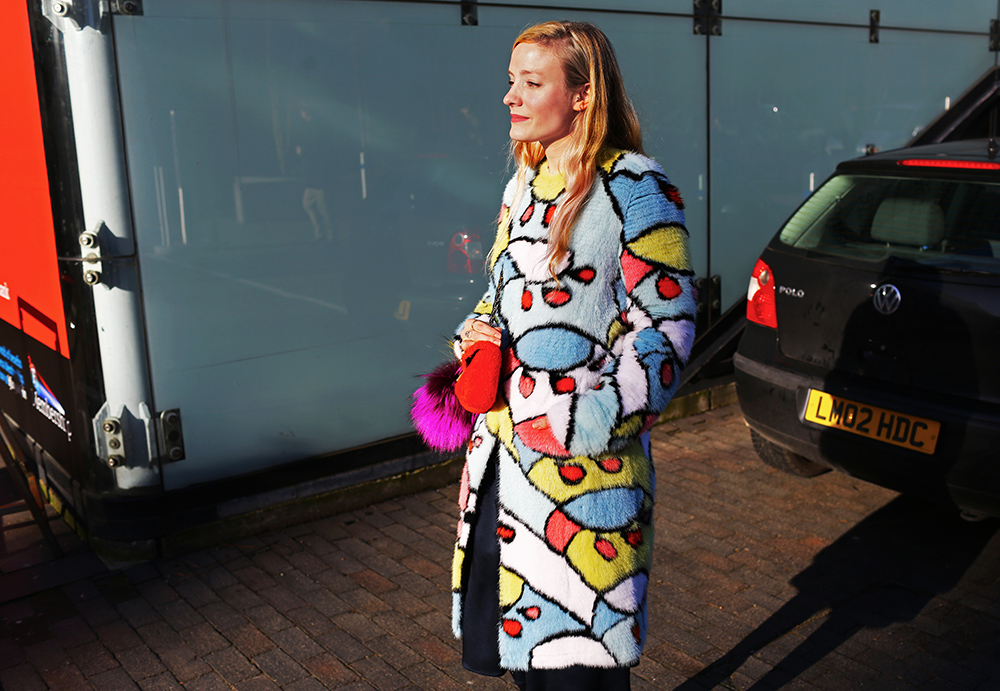 Kate FOley Fendi Street Style
